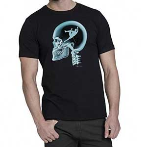 camiseta escalada dibujo