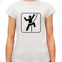 camiseta para alpinismo