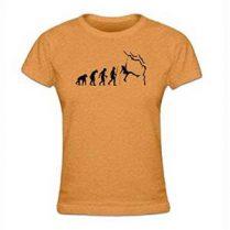 camiseta evolución de la escalada