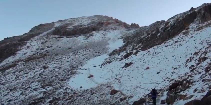 Escalada en el Popocatépetl