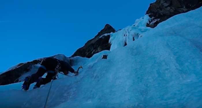 Escalalada en Los Alpes, Mayoix