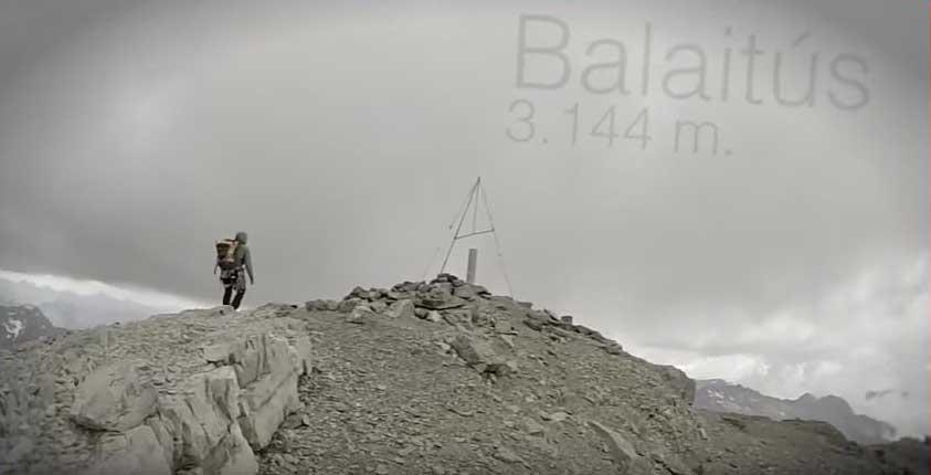 Escalada en el Pico Balaitús