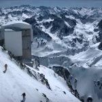 De escalada en Gran Pic du Midi, Pirineos franceses