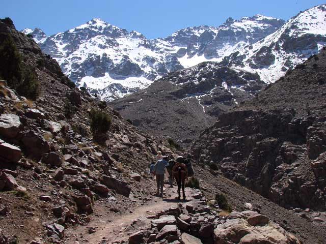 De escalada en el Toubkal - Marruecos 4