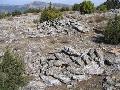 Poblado íbero en la Sierra del Segura
