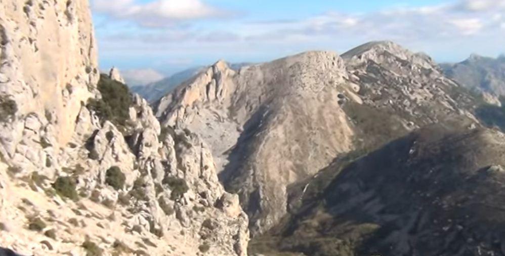 paisajes de La Serrella Alicante