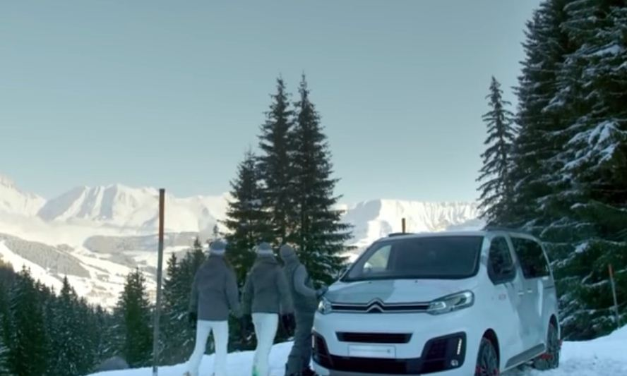 furgonetas para rutas montaña