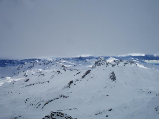 Fantásticas vistas desde la cima del Peyreget