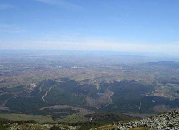 Las preciosas vistas de esta ruta de trail running al Moncayo