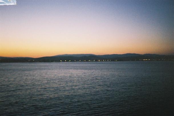 Llegando a Marruecos tras cruzar el estrecho en ferry